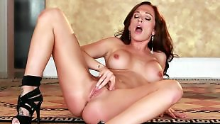 Twisty, Big tits, Twistys, Big pussy, Big tits masturbation, Redhead masturbation