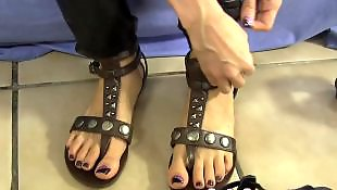 Foot fetish, Fetish, Foot, Amateur, Sandals, Goth