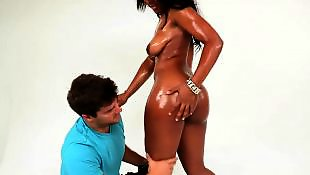 Big ass ebony, Bikini, Slap, Slapping, Ebony ass