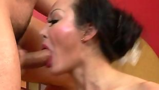 Asian anal, Huge cock