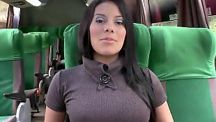 Culioneros, Bus, Beautiful, Juicy pussy, Dress, Thong
