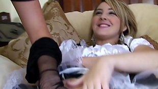 Lesbians stockings, Pantyhose, British, Pantyhose lesbian, Lesbian maid, Lesbian fingering