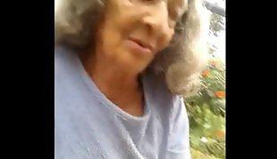 Flash, Granny, Flashing, Forest