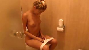 Solo teen, Sasha blond, Private, Bathroom, Sasha blonde, Solo teens