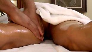 Massage, Milf massage, Oil, Diamond foxxx