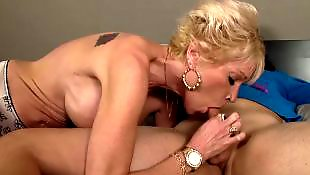 Mature blowjob, Mature, Granny, Suck, Young, Granny blowjob