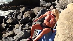 Beach, Amateur, Nudist, Flashing, Milf, Amateur milf