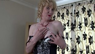 Mature, Granny stockings, Milf stockings, British mature, British milf, Granny