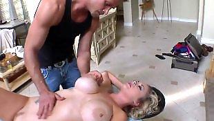 Porn stars, Massage, Busty massage