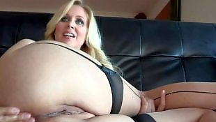 Stocking dildo, Milf stockings, Nylons, Stockings fuck, Julia ann, Milf dildo