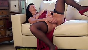 Mature masturbation, Milf stockings, Mature, Stocking dildo, Stockings, Stockings dildo