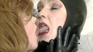 Rubber, Old lesbians, German, Young lesbians, German lesbian, German lesbians