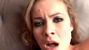 Мастурбация на камеру, Блондинка показывает попку, Анал красивая жопа и сиськи