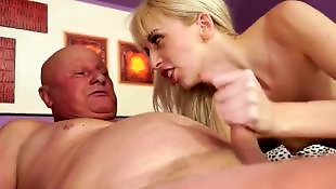 Mature blowjob, Mature, Grandpa