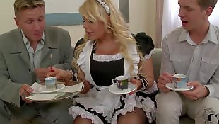 Maid, Ddf network, Hair pulling