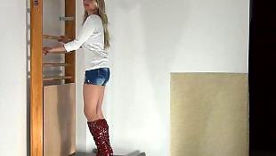Femdom, High heels, Heels, Trampling, Trample, Boots