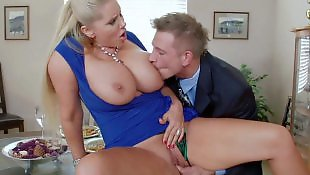 Brazzers, Mom, Hot mom, Karen fisher, Table, Mom pov