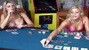 Strip poker, Reality king, Poker, Reality king lesbian