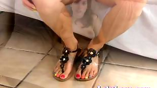 Foot fetish, Foot, Pov, Sandals, Fetish, Amateur