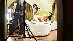 Behind the scenes, Heels, Lesbian high heels, High heels lesbian, Behind the scene