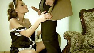 Face fuck, Maid, Humiliation, Cleaning, Sophie lynx, Asshole fingering