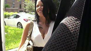 Big tits riding, Bus, Beautiful, Natural tits, Big tits, Bang bus