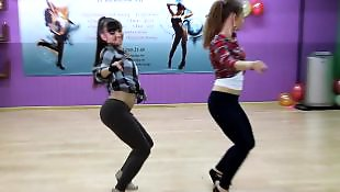 Dance, Russian teen, Russian, Dancing, Voyeur, Russian teens