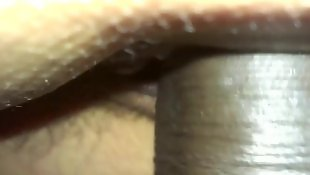 Close up, Creamy pussy, Latin, Hairy close up, Pussy close up, Dick