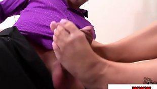 W biurze, Stopy stópki fetysz