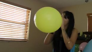 Video, First, Blow, Balloon