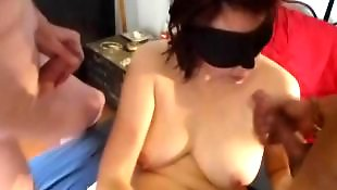 Amateur facial, Birthday, Facial, Milf facial, Milf