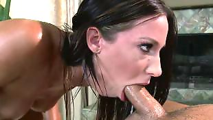 Oil, Jada stevens, Massage, Reverse cowgirl, Oil massage