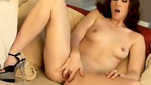 High heels solo, Small tits solo