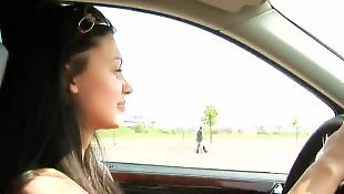 Car, Car blowjob, Aletta ocean
