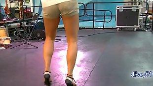 Legs, Leggings, Voyeur, Fetish, Foot, Latin