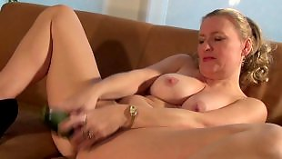 Cucumber, Housewife, Mature amateur, Mature, Riding