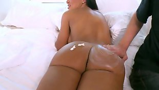 Lisa ann, Big booty, Strip, Ass finger, Milf strip, Ann