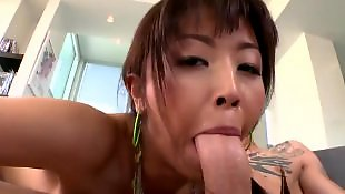 Asian facial, Asian cumshot