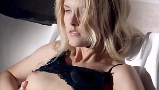 Sasha blond, Stockings solo, Solo stocking, Striptease, Solo stockings, Stocking solo