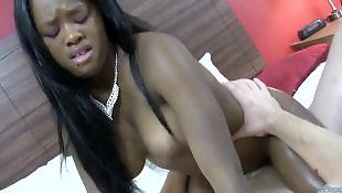 Big tits riding, Busty masturbation, Ebony masturbation, Monster cock, Busty ebony, Monster cock anal