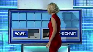 Red, Dress, Tights, Tight dress, Tight, Rachel