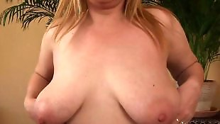 Fist, Old granny, Granny, Hanging tits, Big tits, Mature fisting