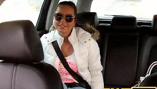 Czech, Faketaxi, Young girl, Young girls