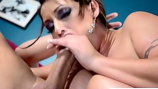 Eva notty, Suck, Big cock, Big tits, Big tits blowjob, Big tit