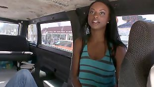 Bangbus, Bus, Ebony riding, Bang bus