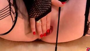 Dildo heels, Chubby solo, Leather, Rubber, Solo heels, Solo babe