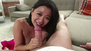 Asian milf, Asian, Young, Old, Stepmom, Suck