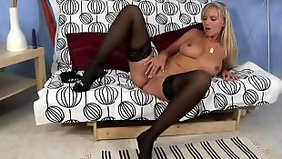 Stockings solo, Stocking dildo, Solo girls, Big boobs solo, Boobs solo