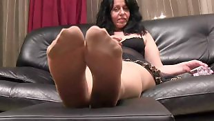 Bbw mature, Foot fetish, Nylons, Foot tease, Bbw, Mature