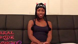Black teen, Ebony teen, First, First time, Video, Teen ebony